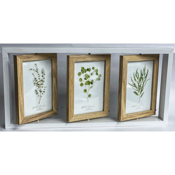 Triple Reversible (6 Photos) Picture Frame