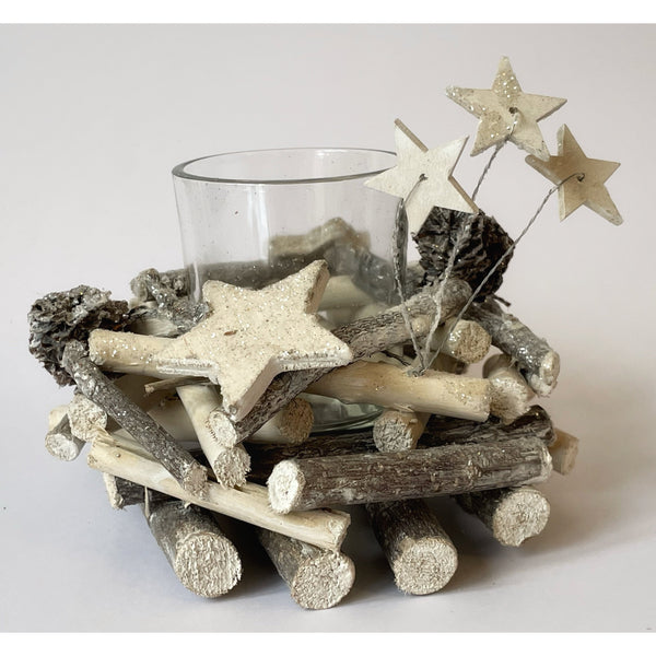 Twigs and Stars Candle Holder (1 or 4 candles)