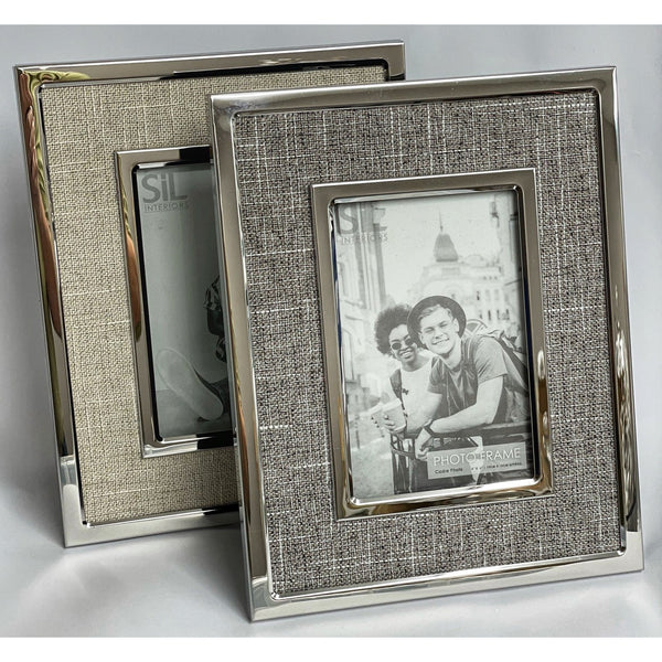 Linen-look Picture Frames
