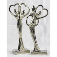 Loving Metal Sculpture