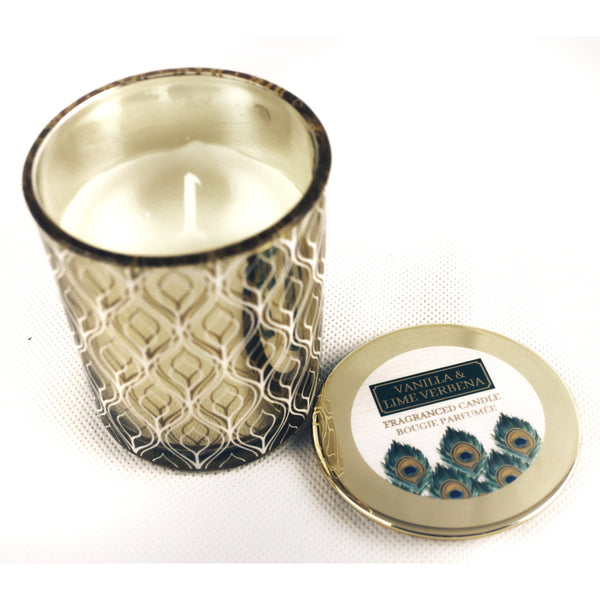 Decorative Scented Candle in Glass Jar (Assorted)