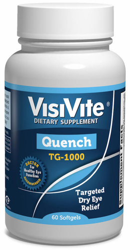 VisiVite Quench TG-1000 Dry Eye Vitamin Formula - 30 Day Supply