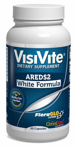 VisiVite AREDS 2 Zinc-Free White Eye Vitamin Formula - 30 Day Supply