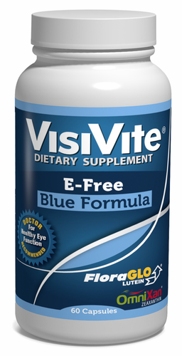 VisiVite AREDS 2 E-Free Blue Eye Vitamin Formula - 30 Day Supply