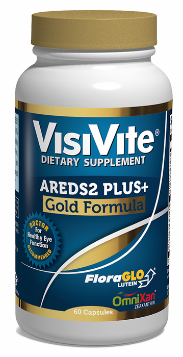 VisiVite AREDS 2 PLUS+ Gold Eye Vitamin Formula - 30 Day Supply