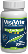 Load image into Gallery viewer, VisiVite Dry Eye Relief TG-1000 Eye Vitamin Formula - 30 Day Supply
