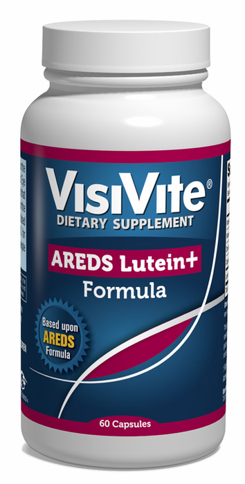 VisiVite AREDS Lutein Plus Eye Vitamin Formula - 30 Day Supply .