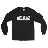 Remixed Timeless Men's Long Sleeve Shirt / Black