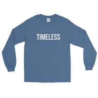 The Classic Timeless Men's Long Sleeve Shirt / White