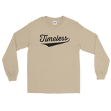 Team Timeless Men's Long Sleeve Shirt / Black
