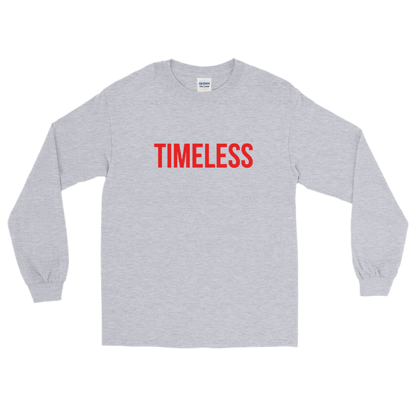 The Classic Timeless Men's Long Sleeve Shirt / Red