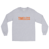 The Classic Timeless Men's Long Sleeve Shirt / Orange