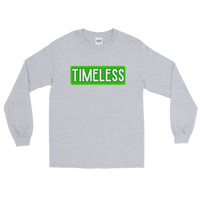 Remixed Timeless Men's Long Sleeve Shirt / Green