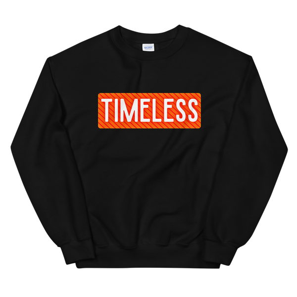 Remixed Timeless Sweatshirt / Orange
