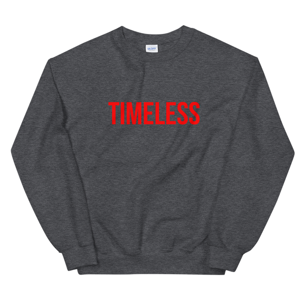 The Classic Timeless Sweatshirt / Red