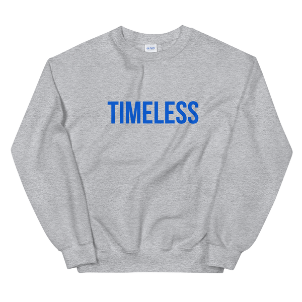 The Classic Timeless Sweatshirt / Blue