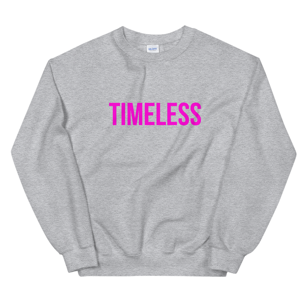 The Classic Timeless Women's Sweatshirt / Pink