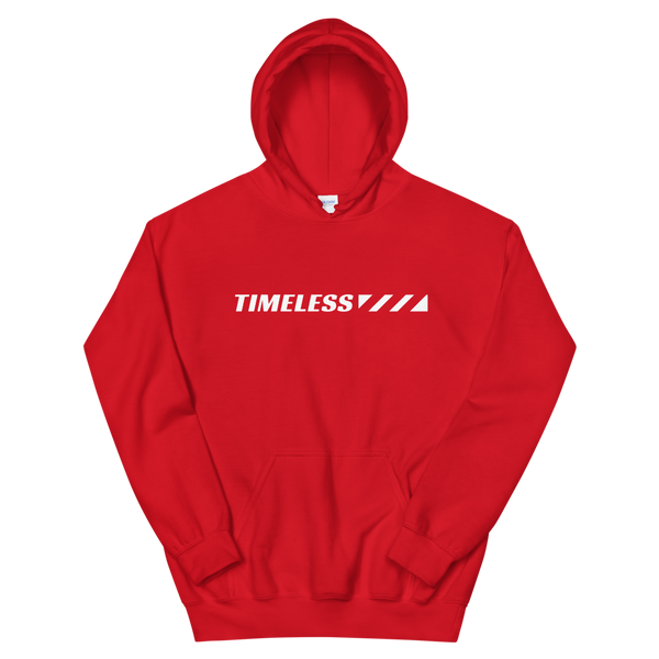The Timeline Hoodie / White