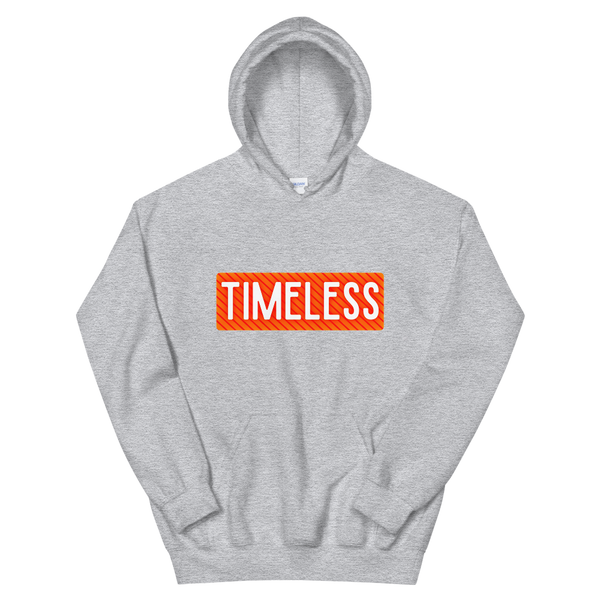 Remixed Timeless Hoodie / Orange