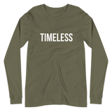The Classic Timeless Women's Long Sleeve Tee / White