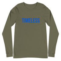 The Classic Timeless Women's Long Sleeve Tee / Blue