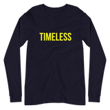 The Classic Timeless Women's Long Sleeve Tee / Yellow