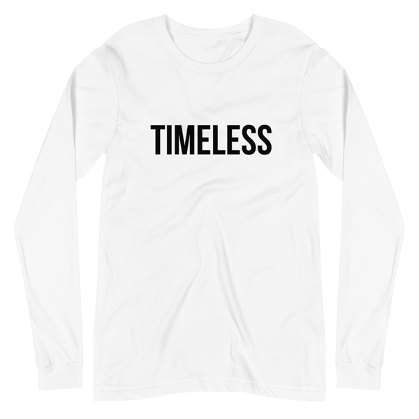 The Classic Timeless Women's Long Sleeve Tee / Black