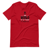 This World Is A Trap T-Shirt / Black / White