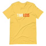 Less Time T-Shirt / Orange / White