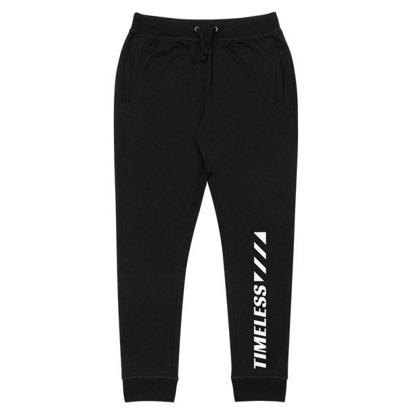 The Timeline slim fit joggers / White