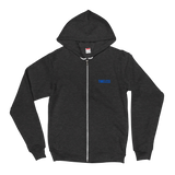 The Classic Timeless Zip Hoodie / Blue
