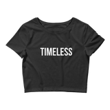 The Classic Timeless Women's Crop Tee / White