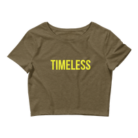 The Classic Timeless Women's Crop Tee / Yellow