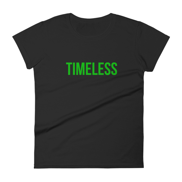 The Classic Timeless Women's short sleeve t-shirt / Green