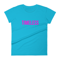 The Classic Timeless Women's short sleeve t-shirt / Pink