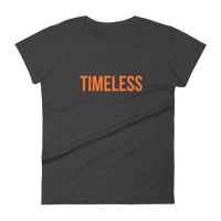 The Classic Timeless Women's short sleeve t-shirt / Orange