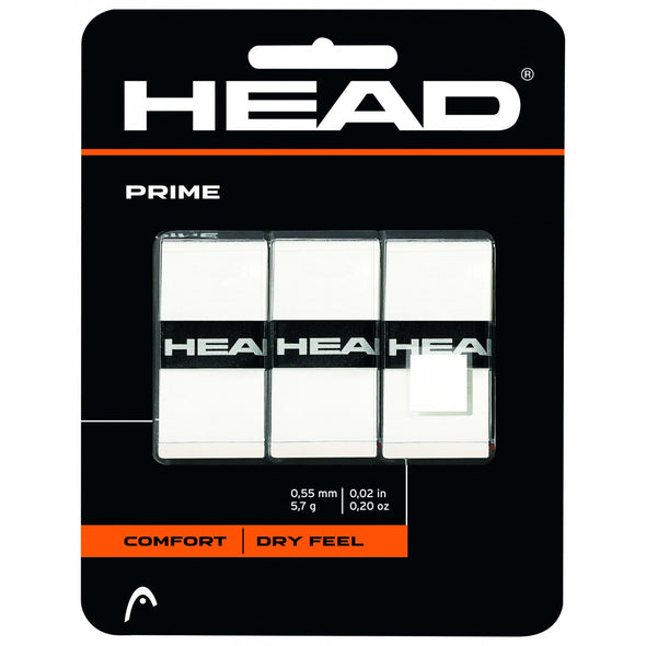 Head Prime 3 Pack Overgrip