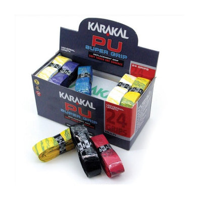 Karakal PU Replacement Grip 24 Box