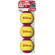 Wilson US Open Red 3B junior ball