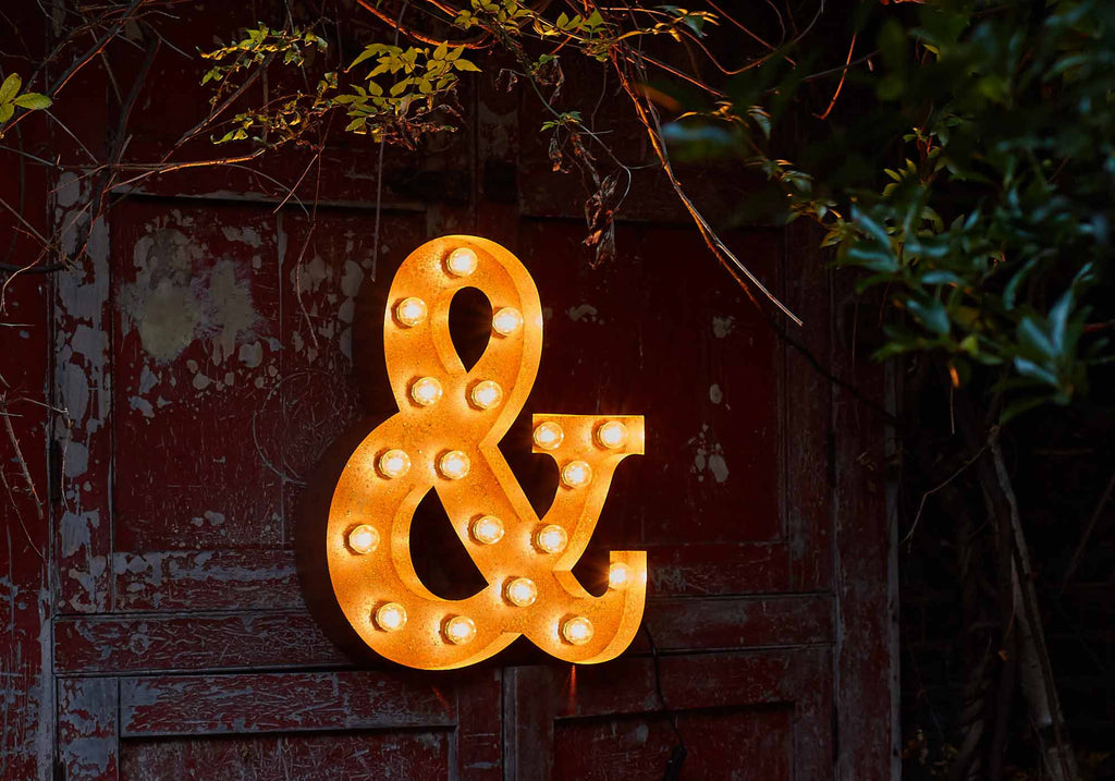 Shape Ampersand & Light