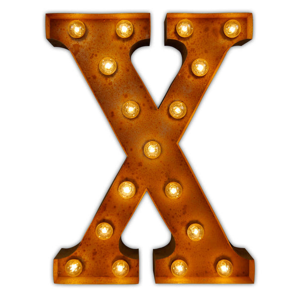 Letter Light X Vintage Letter Lights Uk Alphabet Light