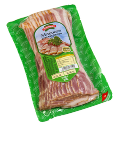 GRIGORIOU STREAKY BACON SLICES 500 GR