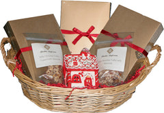 Deluxe Gift Basket - Toffee Sampler