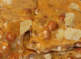 Pineapple Ghost Pepper Peanut Brittle