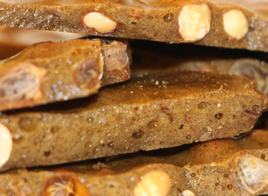 Hot Coffee Peanut Brittle