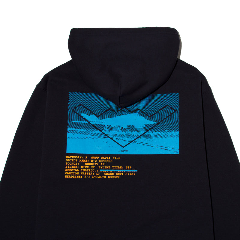 【4色展開】Plane Photo Pullover - StealthMode