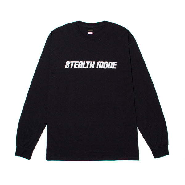STMD Logo Long Sleeve - black - StealthMode
