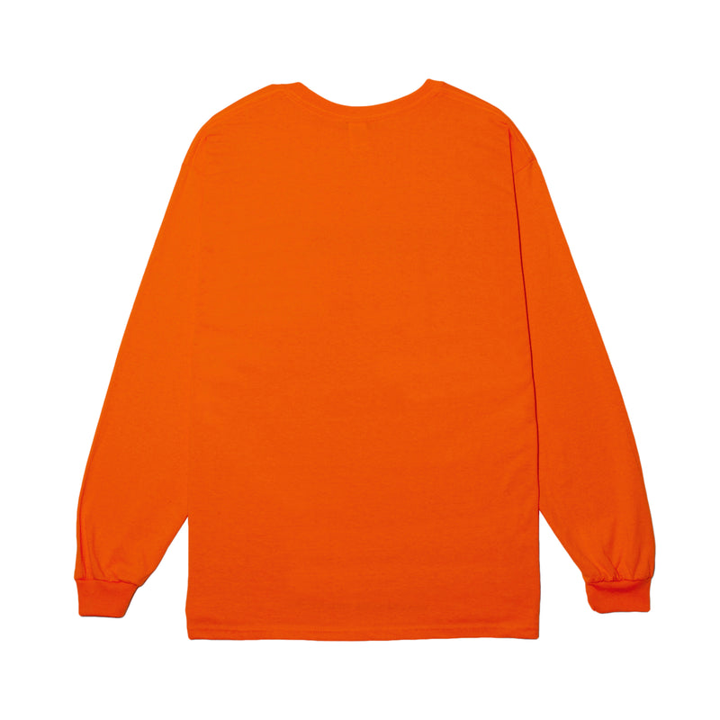 STMD Logo Long Sleeve - orange - StealthMode