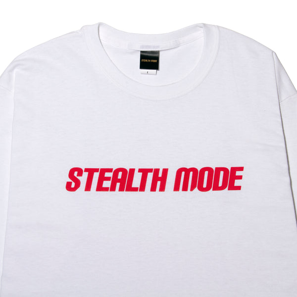 STMD Logo Long Sleeve - white - StealthMode