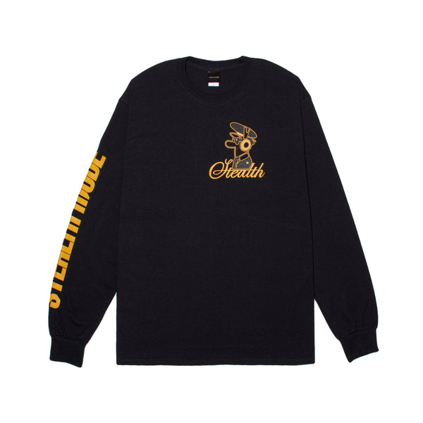 Pilot Logo Long Sleeve - black - StealthMode